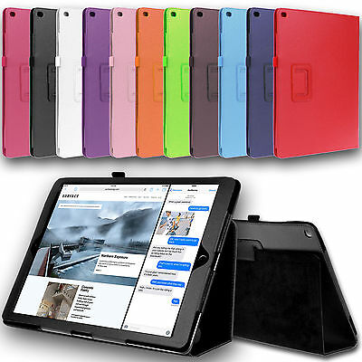 """iPad Pro Leather Case Cover Stand For iPad Pro 12.9"""" & 9.7"""""""