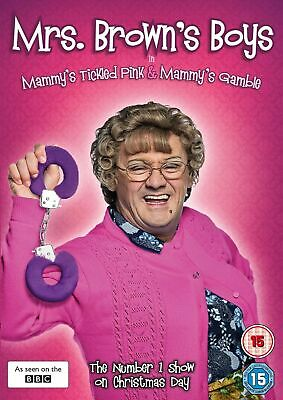 Mrs Brown's Boys: Mammy's Tickled Pink/Mammy's Gamble [DVD]