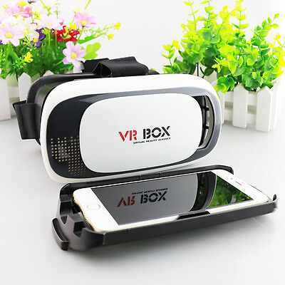 3D VR Glasses Virtual Reality Box Headset Helmet For iPhone 6 6s New Fashion
