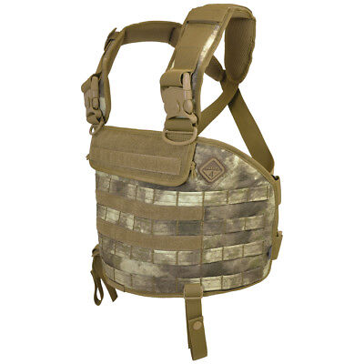 Hazard 4 Frontline Molle Chest Rig Airsoft Hunting Combat Cordura Vest A-Tacs Au