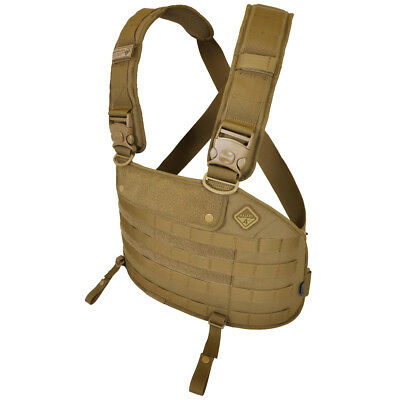 Hazard 4 Frontline MOLLE Chest Rig Airsoft Cordura Combat Tactical Army Coyote