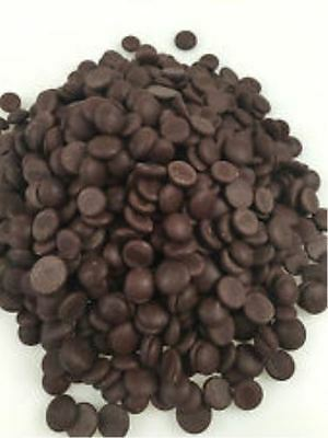 Dark Chocolate Buttons 1Kg - Best Value Perfect For Baking!