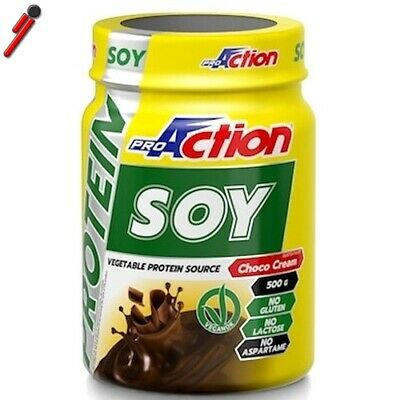 Proaction Promuscle - Soy Protein, 500 g. Proteine di Soia Isolate