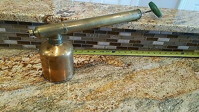 Old Copper Sprayer - G  & O Wonder Sprayer