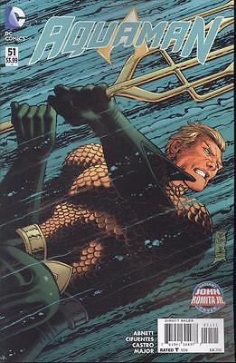 Aquaman #51 Romita Var  NEW!!!