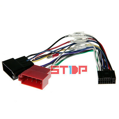 ISO WIRING HARNESS for KENWOOD DDX4016BT adaptor cable connector lead loom wire
