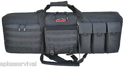 """Holds 6x 30R Carbine Mags US SELLER! Triple Mag Pouch Black 6.25x1x6/"""" Black"""