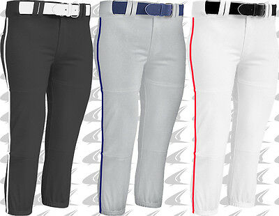 Champro Adult Womens Fastpitch Softball Pants W/ Piping Braid BP71A Multi Colors