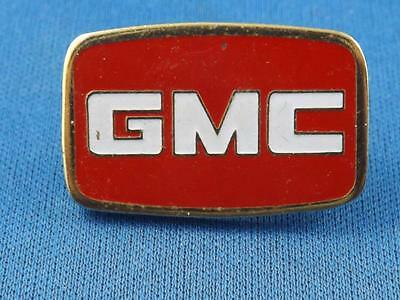 Gmc Car Truck Vintage Red White  Pin Pinback Automobile Collector Button