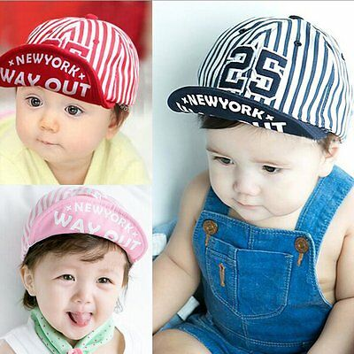 Toddler Infant Baby Boys Girls Summer Peaked Baseball Beret Sun Hat Bonnet Cap