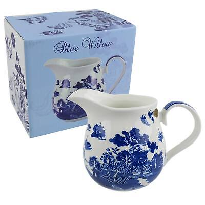 NEW Classic Large Jug by Leonardo Blue Willow Collection Kitchen GIFT Boxed