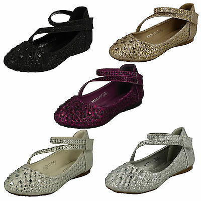 Wholesale Girls Party Shoes 16 Pairs Sizes 10-2  H2335