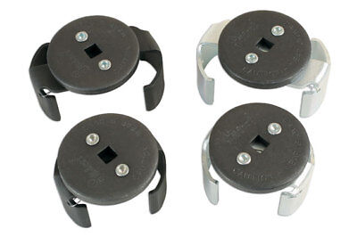 Laser Tools 6330 Oil Filter Wrench Set 4pc