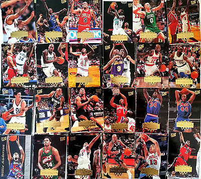Lot 148 Cartes NBA basket cards SANS DOUBLES Fleer Ultra 1995 1996
