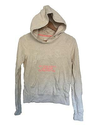 Used Girls H&M Cream Hoodie Age 12-14 Years (J.G)