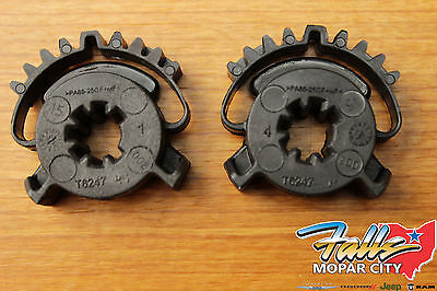 2011-2019 Dodge Durango Jeep Grand Cherokee Set Of 2 Heat/AC Actuator Gears OEM