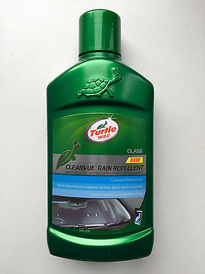 Turtle Wax ClearVue Rain Water drops Repellent Car glass, 300 ml