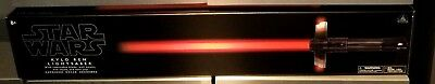 NEW Disney Parks Star Wars Kylo Ren FX Lightsaber w/ Removable Blade Last Jedi