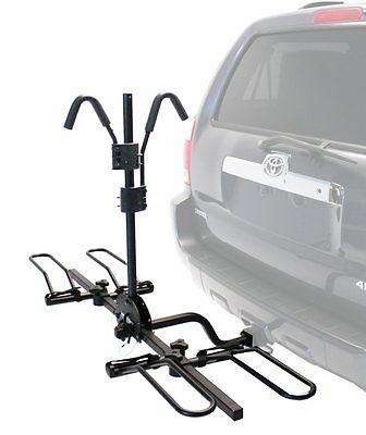 "Hollywood HR200 Trail Rider Hitch Mount Bike Rack, 2 Bikes, 2"" and 1.25"""