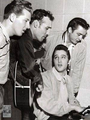 Million Dollar Quartet 24x36 Presley, Cash, Lewis & Perkins Music Poster