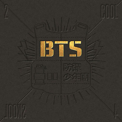 BTS - [2 Cool 4 Skool] 1st Single Album CD+Booklet K-POP Sealed Bangtan Boys