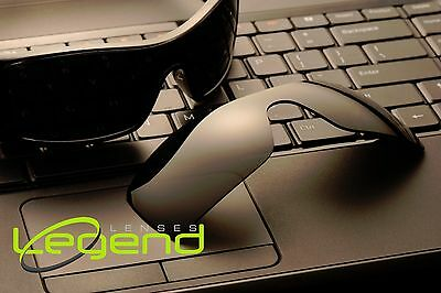 A13 Dark Black POLARIZED Replacement Legend Lenses For Oakley BATWOLF