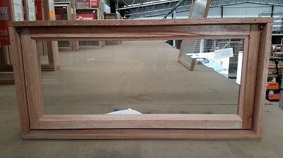 Timber Awning Window 450mm H x 915mm W