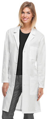 "Cherokee Adult New Long Sleeve Chest Pocket Vented Back 40"" Lab Coat. 1346A"