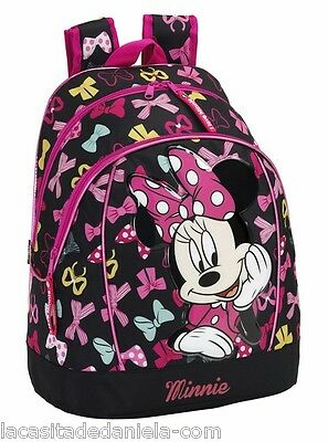 MINNIE MOUSE Mochila grande adaptable a carro// Big Rucksack / Sac a dos / Zaino