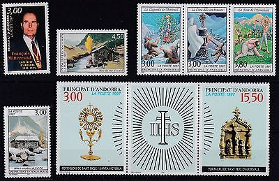 French Andorra 1997  Complete Year Set  13 M / N / H