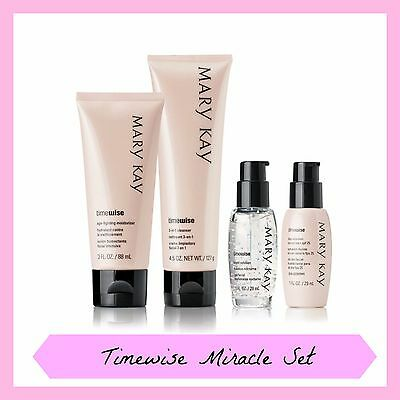 Mary Kay TIMEWISE MIRACLE SET for Combination to Oily Skin - RRP $181