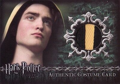 Harry Potter Goblet of Fire Update Cedric Diggery C8 Variant Costume Card