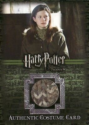 Harry Potter Order of the Pheonix Ginny Weasleys Jumper C5 Costume Card