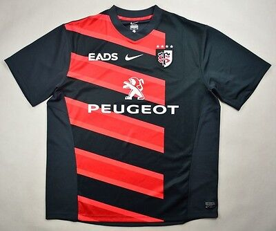 8f52c153082 NIKE AUTHENTIC STADE Toulousain Toulouse France French Rugby Jersey ...