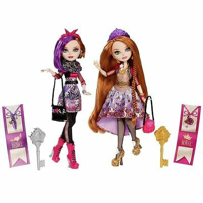 Ever After High Royal and Rebel Holly and Poppy O'Hair Sisters Dolls Twin 2 Pack