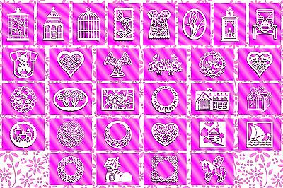 Brother ScanNCut Card Topper 2 templates CD1026