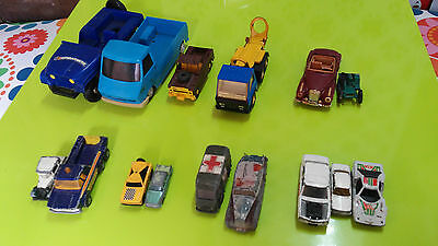 Lot voitures anciennes dinky toys, Norev, corgi...