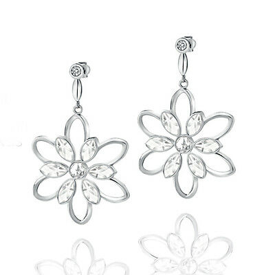 Gioielli Morellato Fioremio Silver Stud Earrings with a Natural Diamond- SABK17