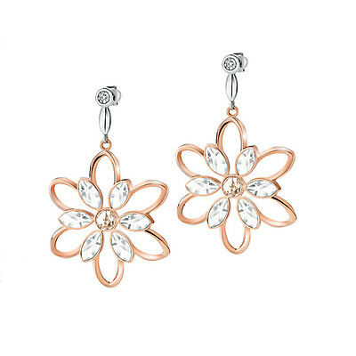 Gioielli Morellato Fioremio Rose Gold Earrings with a Natural Diamond- SABK27