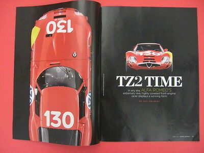2011 ALFA ROMEO 1965 TZ2 Front-Engine Racer Only 12 Built Ad Print Full Article