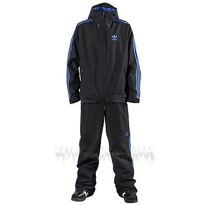 ADIDAS Men's 2015 Snowboard Snow Black FIREBIRD 2L ONE PIECE Snowsuit