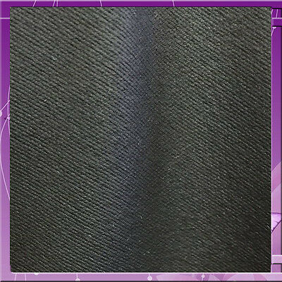 100% Heavy Weight Polyester Textured 58 Inches Wide Fabric Sold Bty Black