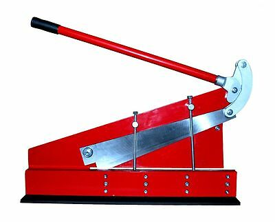 Sheet Metal Lever Cropper Guillotine Shear 500mm Blade / 1.5mm capacity