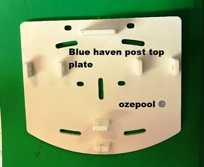 Post top plates BLUEHAVE/ZODIAC Above Ground Pool Parts priced each, 0243690299