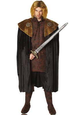 Brand New Game of Thrones Renaissance Medieval King Cape (Adult)