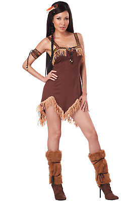 Brand New Sexy Adult Indian Princess Pocahontas Halloween Costume