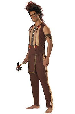 Brand New Native American Indian Noble Warrior Chief Men Costume