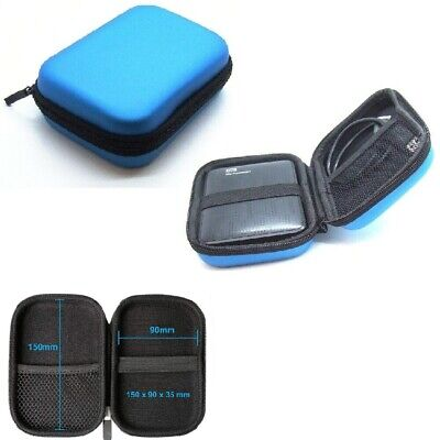 External Hard Disk Protect HDD Shockproof Carrying Enclosure Drive Case Cover UK
