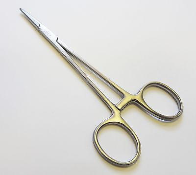 Halsted Mosquito Artery Forceps 12cm Straight Curved surgical Dental Instruments