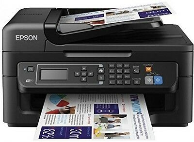 Epson WorkForce WF-2630 Four-in-One For The Small Printer With Wi-Fi And